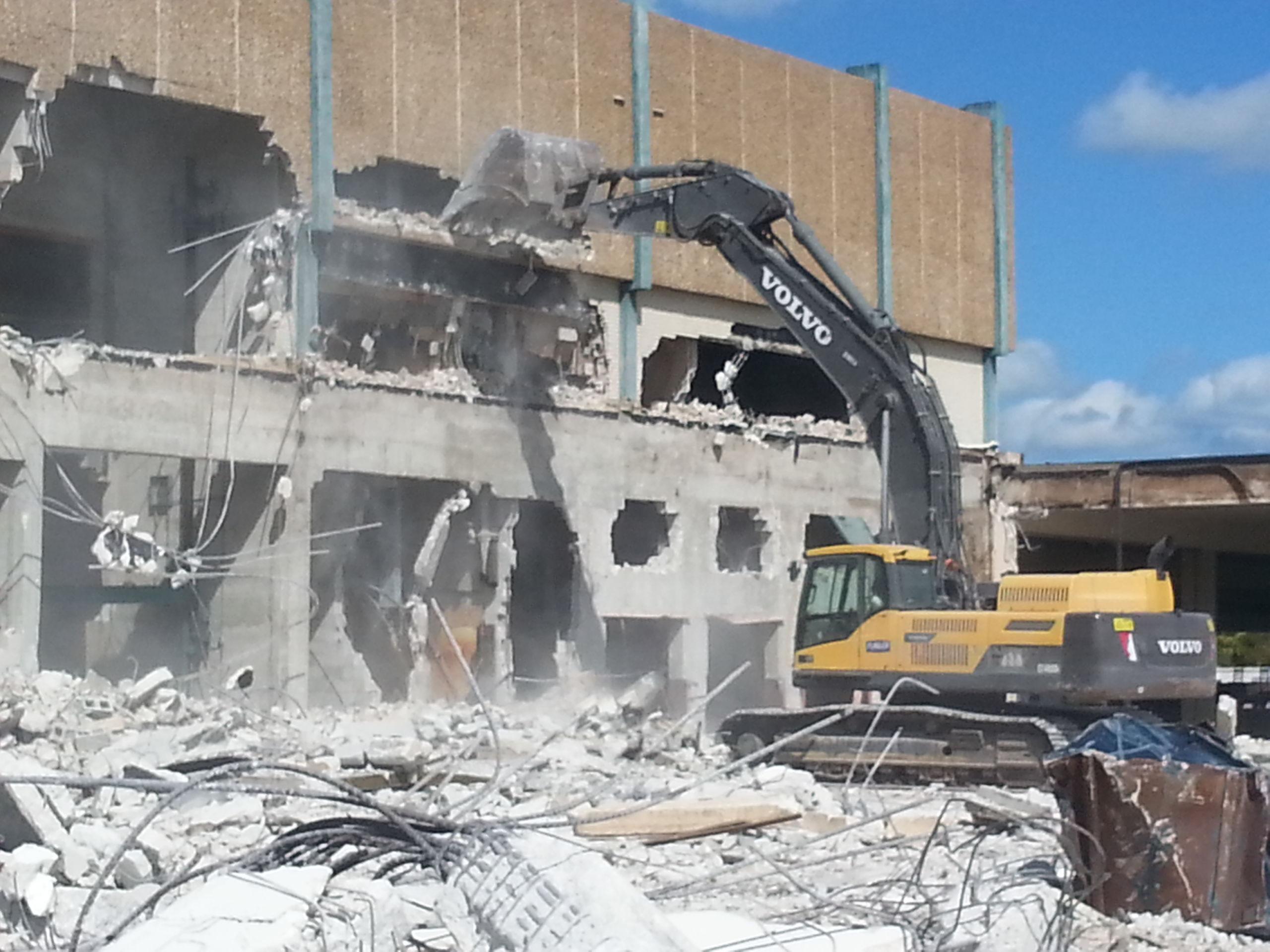 Millennium Mall Demolition