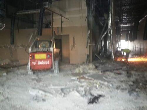 tructural Demolition of Kroger's