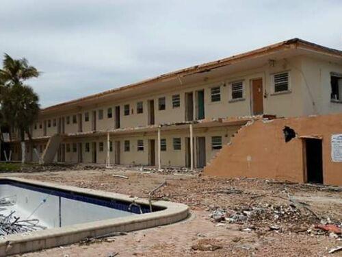 Seashore Club Structural Demolition